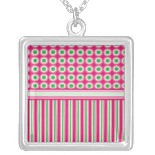 Watermelon Dots & Stripes Jewelry