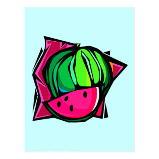 Watermelon Dream Postcard
