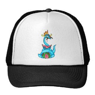 Watermelon Eating Dragon Trucker Hat