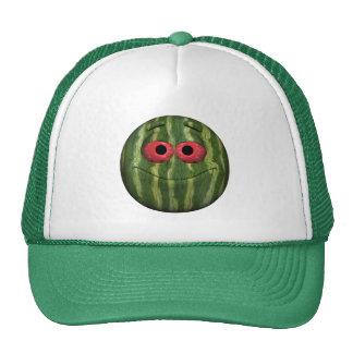 Watermelon Emoticon Trucker Hat