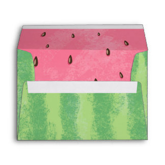 Watermelon Envelope Melon Party One in a melon