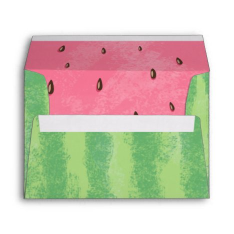Watermelon Envelope Melon Party One in a melon