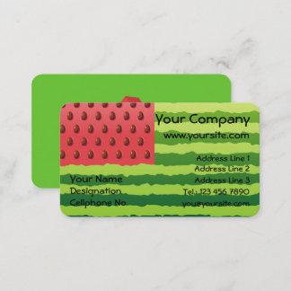 Watermelon Flag Business Card