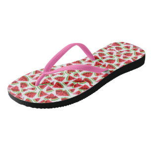 7bdc9a3b0079 Watermelon Flip Flops your ideal gift beach time