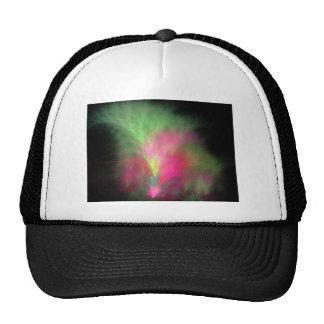 Watermelon fractal trucker hat