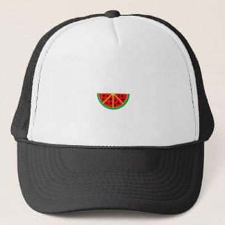 watermelon fruit graphic trucker hat