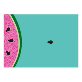 Watermelon fruit large business card