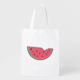 Watermelon Fruit Sweet Health Fresh Grocery Bags