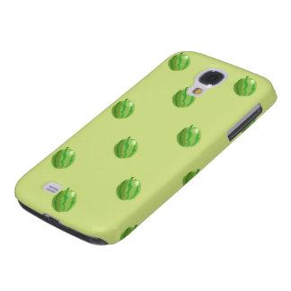 watermelon green pattern HTC vivid tough Galaxy S4 Cover