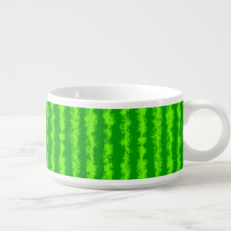 Watermelon Green Rind Summer Fruit Pattern Bowl