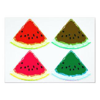 Watermelon Greeting 4.5x6.25 Paper Invitation Card