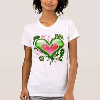 Watermelon Heart (Version 2) Tshirt
