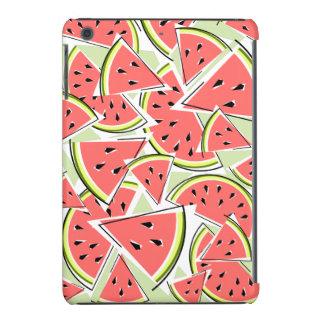 Watermelon iPad Mini case green