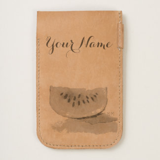 Watermelon iPhone Leather Pouch