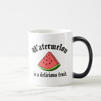 Watermelon Is A Delicious Fruit 11 Oz Magic Heat Color-Changing Coffee Mug
