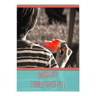 Watermelon Kid Family Reunion Party Invitation