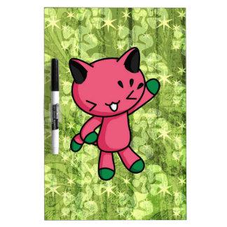 Watermelon Kitty Dry-Erase Whiteboard
