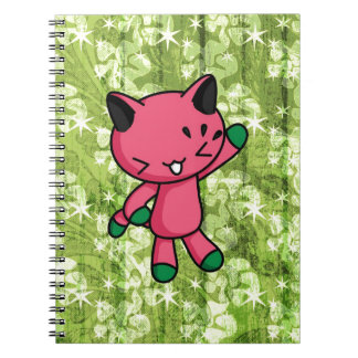 Watermelon Kitty Notebook