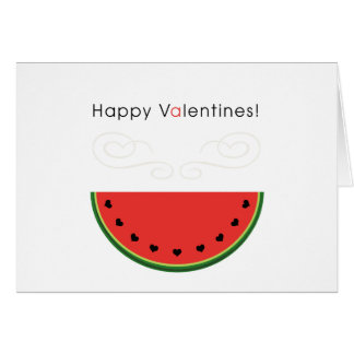 Watermelon Love Card