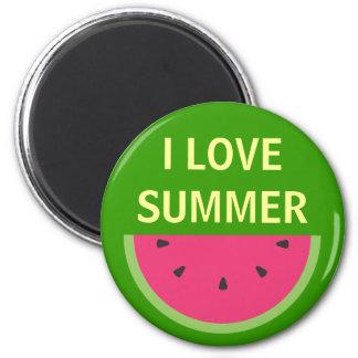 Watermelon Refrigerator Magnets