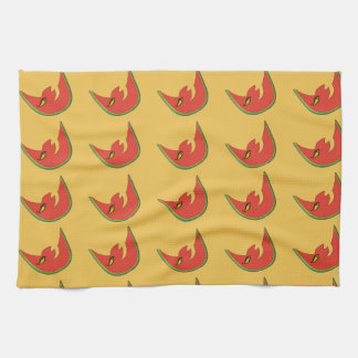 Watermelon MAN Abstract Design Towel