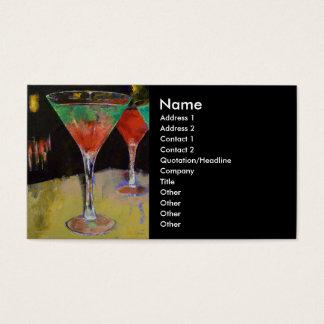 Watermelon Martini Business Card