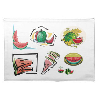Watermelon Medley Placemat