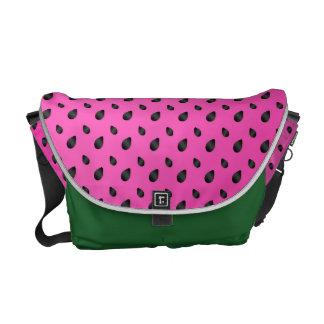 Watermelon messenger bag