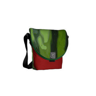 Watermelon Messenger Bag