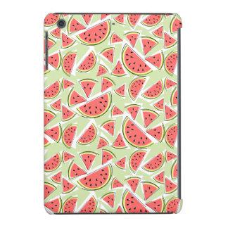 Watermelon Multi iPad Mini case green