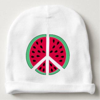 Watermelon of Peace Baby Beanie