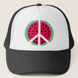 Watermelon of Peace Trucker Hat