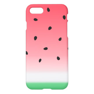 Watermelon Ombre Stripes iPhone 8/7 Case