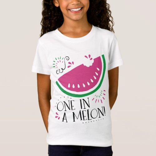 Watermelon One in a Melon T_shirt