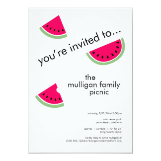 Watermelon Party Invitations for Any Occasion