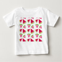watermelon pattern baby T-Shirt
