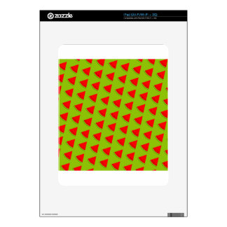 Watermelon pattern decal for iPad