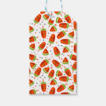 Watermelon pattern gift tags