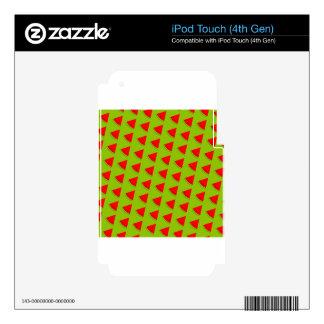Watermelon pattern iPod touch 4G skins