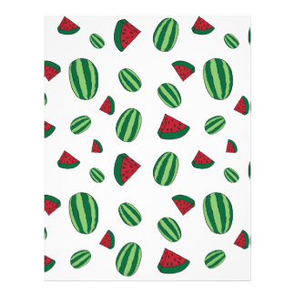 Watermelon Pattern Letterhead