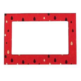 Watermelon Pattern Magnetic Photo Frame
