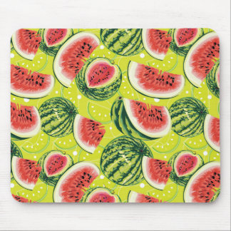 Watermelon Pattern Mouse Pad