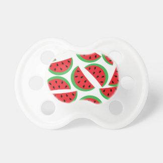 Watermelon pattern pacifier