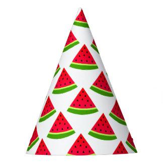 Watermelon Pattern Party Hat