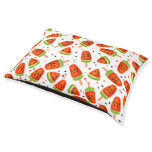 Watermelon pattern pet bed