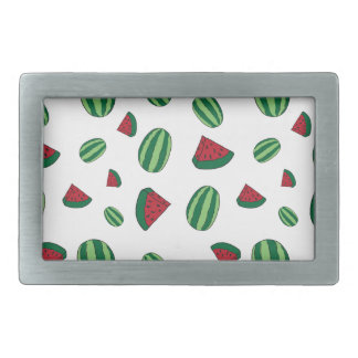Watermelon Pattern Rectangular Belt Buckle