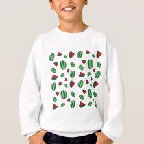 Watermelon Pattern Sweatshirt