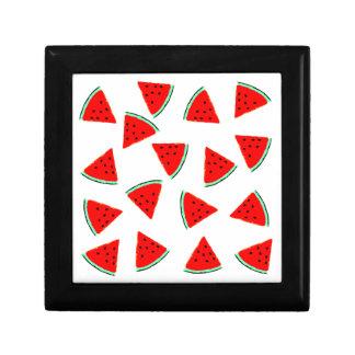 Watermelon Pattern Triangles Keepsake Boxes