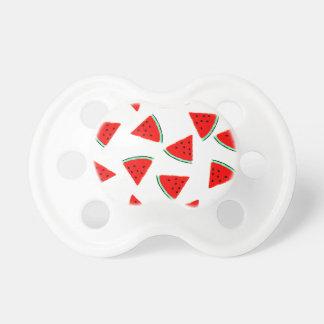 Watermelon Pattern Triangles Pacifier
