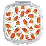 Watermelon pattern vanity mirror